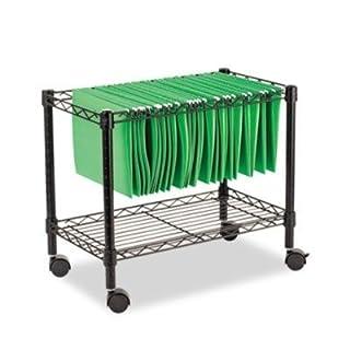 Single Tier Rolling File Cart IFA028 by Alera