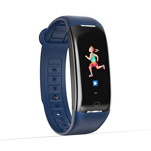 Janly_Intelligente Elektronik 0,96 'Farbbildschirm Blutdruck / Herzfrequenzmessgerät Bluetooth...