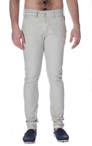 Pantalone Meltin Pot in Cotone SIMON-MP020-G2249-GU003 Gesso, 36 MainApps