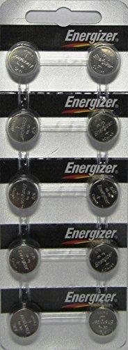 Energizer - LR44, AG13, A76 / 10 unidades