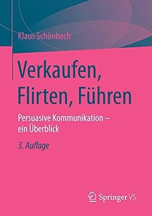 Klaus Schnbach Verkaufen Flirten Fhren