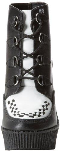 TUK Shoes , Semelle compensée femme Noir
