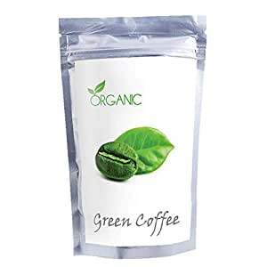 Perennial Lifesciences Organic Green Coffee Beans (Decaffeinated & Unroasted) - 200Gm