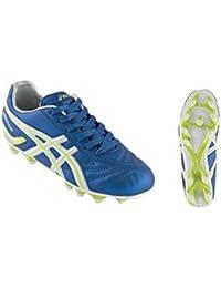 ASICS Zapatos de fútbol JR Junior Warrior Nr jsp992 eléctrico Azul neón ... fc40a52b8e172