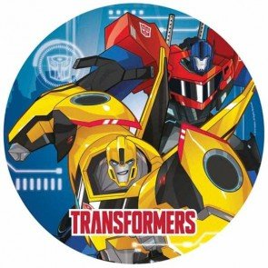 Amscan International 990130223cm Transformers Robots in Disguise Papier Teller