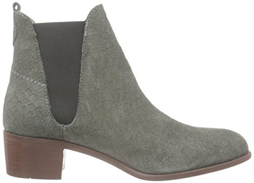 Hudson London Damen Compound Suede Chelsea Boots Grau (Charcoal)