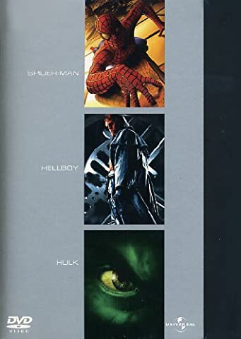 Spider-Man + Hellboy + Hulk [IT Import] [3 DVDs]