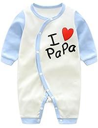 Bebé Mono Mameluco - Niños Niñas Pelele Bebé Pijamas Algodón Una Pieza ...