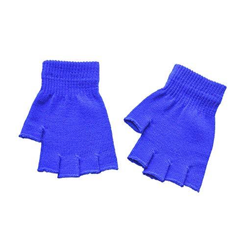 TEBAISE Damen Fingerlose Handschuhe | Praktische Winterhandschuhe aus -