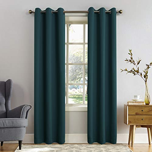 Sun Zero Easton Grommet Curtain Panel 40