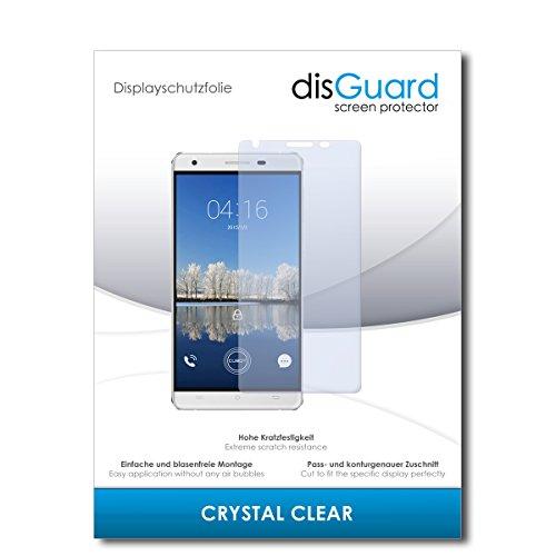 disGuard® Bildschirmschutzfolie [Crystal Clear] kompatibel mit Cubot H2 [4 Stück] Kristallklar, Transparent, Unsichtbar, Extrem Kratzfest, Anti-Fingerabdruck - Panzerglas Folie, Schutzfolie