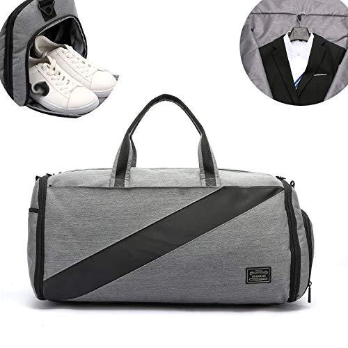 7cec7517fff Valleycomfy Sac de Sport Sac de Costume de Grande capacité avec Chaussures  Sacs à Main