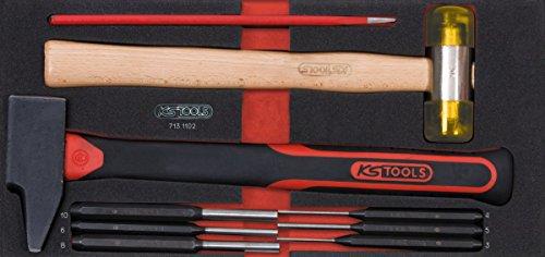 KS Tools 713.1102 Module de 9 Outils de frappe manche fibre pas cher