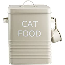 Home Sweet Tin Boîte pour nourriture pour chat