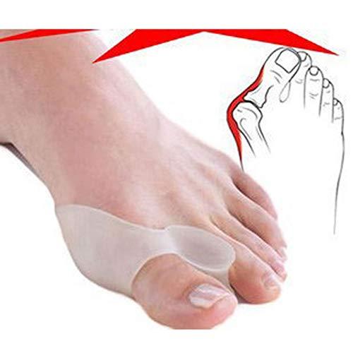GAOWORD 6 par ortopédico Hallux Valgus Pro Bunion Toe Corrector Separador Bunion camillas Protector pedicura Cuidado de los pies Herramienta