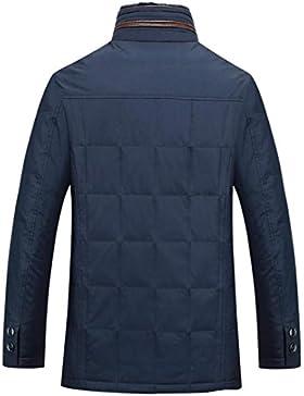 MHGAO Escudo de Down chaqueta de abrigo nuevo pato blanco abajo del cuello de los hombres ocasionales , xxxl