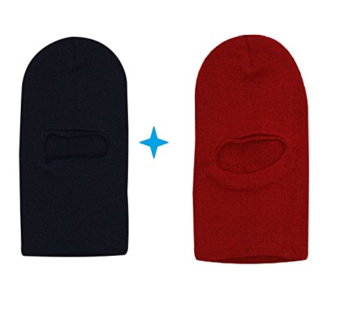 Light Gear Kids Combo of School Winter Woolen Monkey / Skull Cap, Ideal for 3 to 10 Years