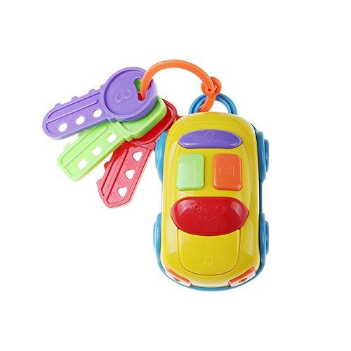 g Spielzeug, Vintage Baby Kleinkinder lernen Spaß Spielzeug cikoo Musik Car Wash Schlüssel Bildungs-Spielzeug ()
