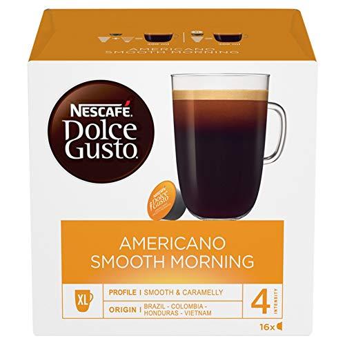 Nescafé Dolce Gusto Preludio, Kaffee, Kaffeekapsel, Grosse Kaffeebecher Portion, 48 Kapseln