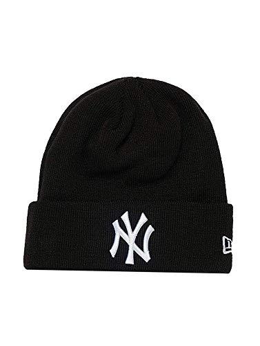 New Era LG Esnl Cuff Mütze NY Yankees Schwarz, Size:ONE Size