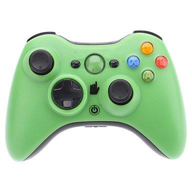 Erhalten Kabelloser Controller für Xbox 360 (verschiedene Farben) , Blau - Blau Xbox Controller 360 Led