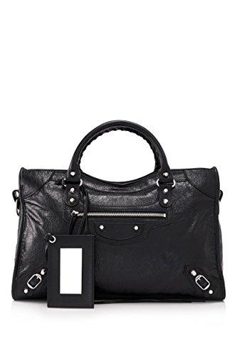 balenciaga-womens-115748d94jn1000-black-leather-handbag