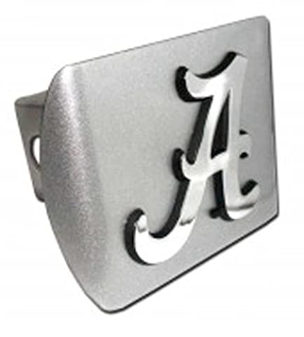 University of Alabama Brushed Silver with Chrome Crimson Tide A