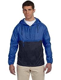 Harriton Men's Packable Nylon Jacket