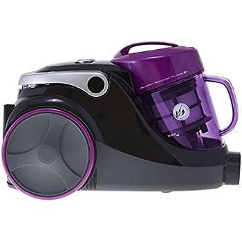 Hoover SP81_SP01001 Spirit Bagless Cylinder Vacuum Cleaner, 1.5 L, 850 W - Purple and Black