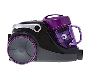 Hoover SP81_SP01001 Spirit Bagless Cylinder Vacuum Cleaner, 1.5 L, 850 W - Purple and Black