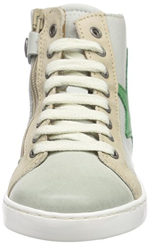 Bisgaard Shoe with laces, Baskets hautes mixte enfant Blanc - Weiß (40 White)