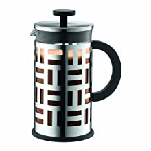 BODUM Eileen 8 Cup French Press Coffee Maker, Shiny, 1.0 l, 34 oz