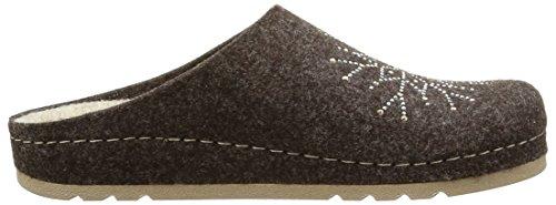 RohdeRiesa-D - Pantofole non imbottite Donna Marrone (Marron (72 Mocca))