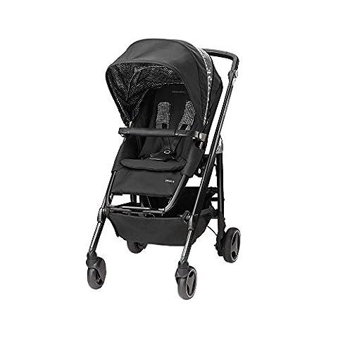 poussette naissance ultra confortable Bébé Confort Loola 3 Digital Black