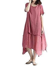 23f9b5c21068 Amazon.es: vestido bohemio - Saihui / Mujer: Ropa