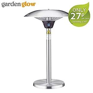 Garden Glow 2100W Electric Outdoor Table Top Patio Heater