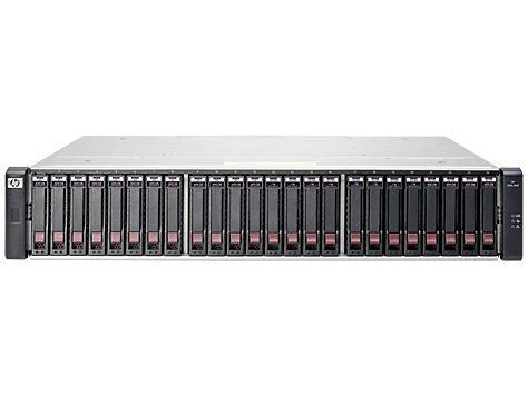 Hewlett Packard Enterprise MSA 2040 3600GB Fibre Channel / iSCSI Rack (2U) Black disk array
