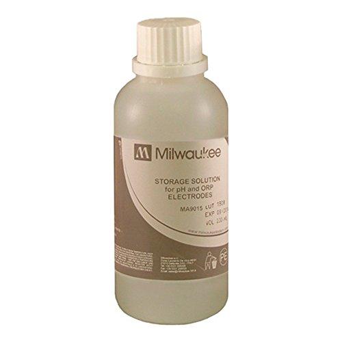 Solución de Almacenamiento para Electrodos de pH / ORP Milwaukee 230ml (MA9015)