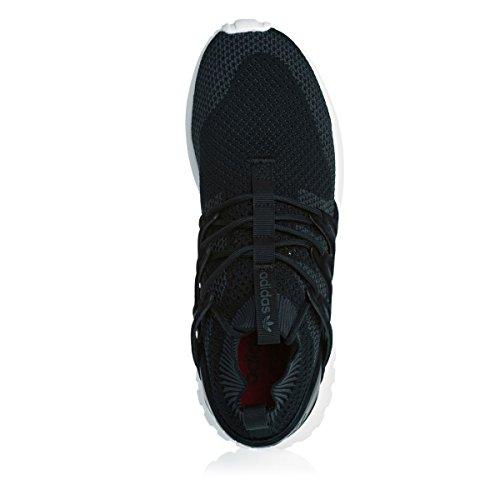 adidas Tubular Nova Primeknit Black Dark Grey White Noir