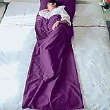 WXQY Leichte Reise Camping Anti-Dirty Travel Schlafsack Erwachsenen ultraleichten tragbaren Innen weichen Schlafsack ausgekleidet Hotel Hotel Schlafsack