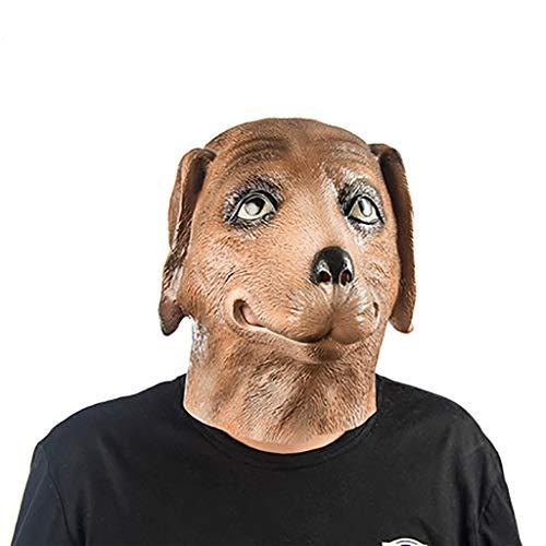 Masken für Erwachsene Maskenmaske Hündchen Perücke Erwachsene männliche und weibliche Horror Maske (Hündchen Gesichter Für Halloween)