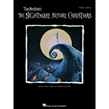 Tim Burton's The Nightmare Before Christmas Songbook: P/V/G