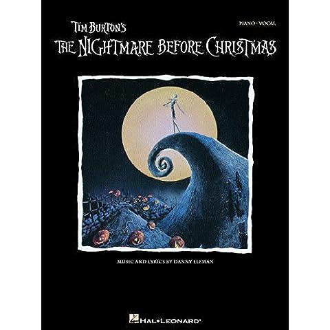 Tim Burton's The Nightmare Before Christmas Songbook: P/V/G (Piano Vocal Series) - P. Piano