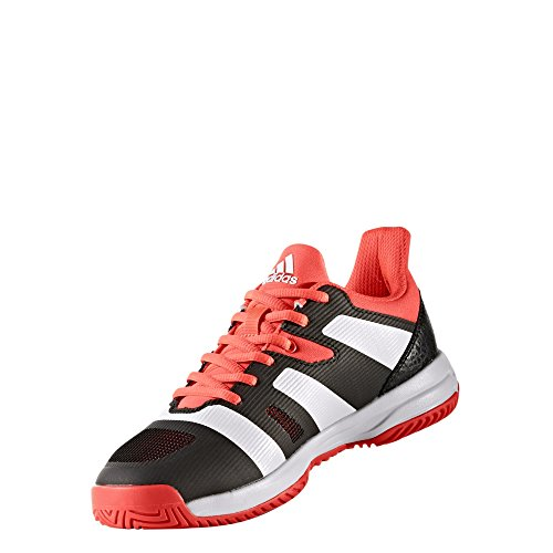 adidas Unisex-Kinder Stabil X Jr Handballschuhe Rot (Rojsol/Ftwbla/Negbas)