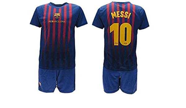 size 40 80e73 b0db6 Complete Official Shirt + Short Football Lionel Leo Messi 10 ...