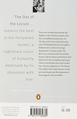 The Day Of The Locust And The Dream Life Of Balso Snell (Penguin Modern Classics)