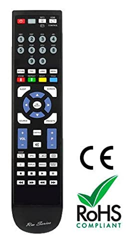 RM-Series Replacement Remote Control For Saba VR-8011