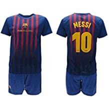 Kit Fan FCB Equipació de Futbol 2018/19 FC Barcelona Stadium Home Leo Lionel Messi