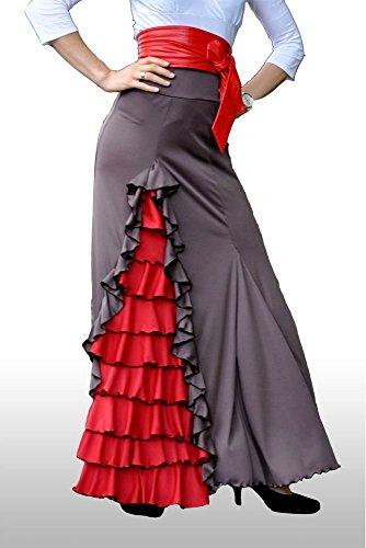 Falda Flamenca. ¡También disponible como vestido! - Todos los colores.