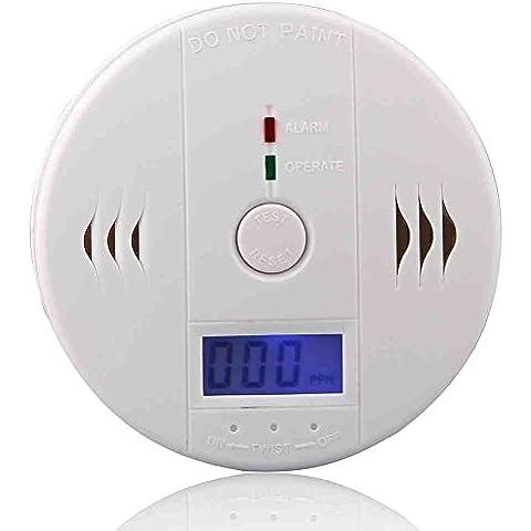 Detector, sensor y alarma de envenenamiento por Monóxido de Carbono (CO) [version:x7.9] by